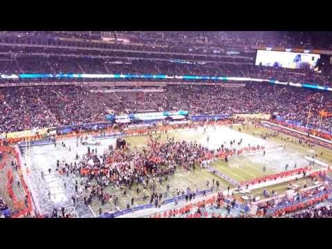 Seahawks vs Broncos Super Bowl XLVIII Final Play + Award Ceremony SB48