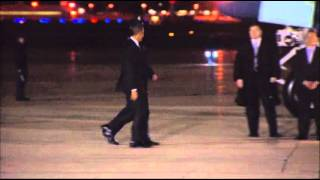 Raw: Obama Departs for Trip to Israel