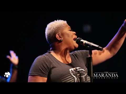 Maranda Curtis in Worship at