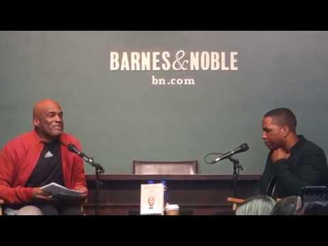 Leslie Odom Jr - Failing Up - book talk at Barnes & Noble - part 1 of 4