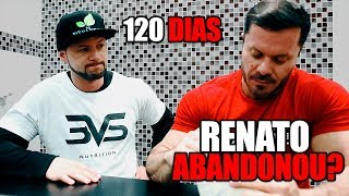 120 DIAS ANDER | RENATO VAI SAIR ? thumbnail