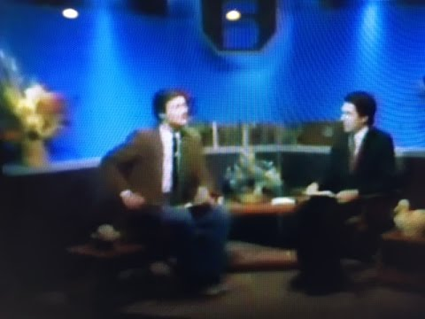 Dr. Peppercorn co-anchors a local weekly news program - 1984