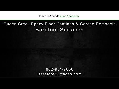 Queen Creek Epoxy Floor Coatings & Garage Remodels | Barefoot Surfaces