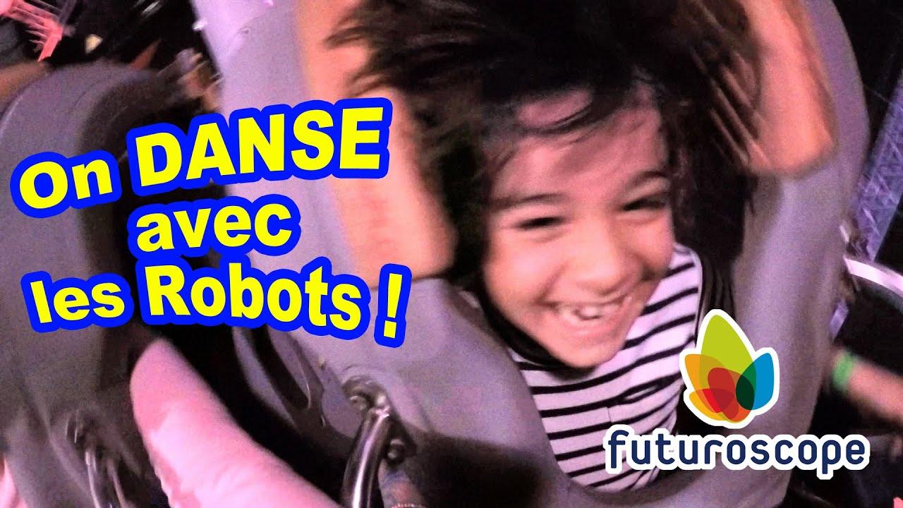 danse fun avec les robots au parc du futuroscope youtube. Black Bedroom Furniture Sets. Home Design Ideas