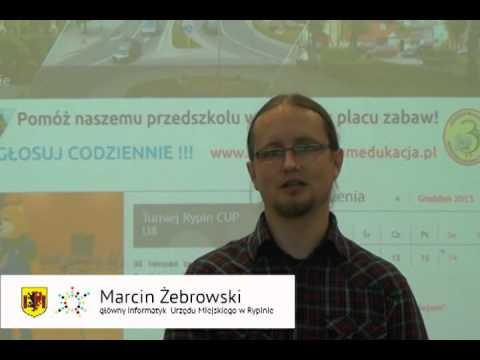 Marcin Żebrowski   budowa portalu rypin eu