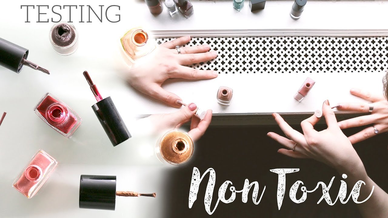 BEST NON-TOXIC NAIL POLISH | testing 5 brands - YouTube