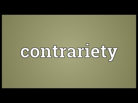 Header of contrariety