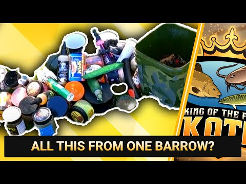 ALL THIS FROM ONE BARROW? || GREENACRES FARM FISHERY