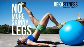 No more Skinny Legs- Best Leg workout for gain muscle mass