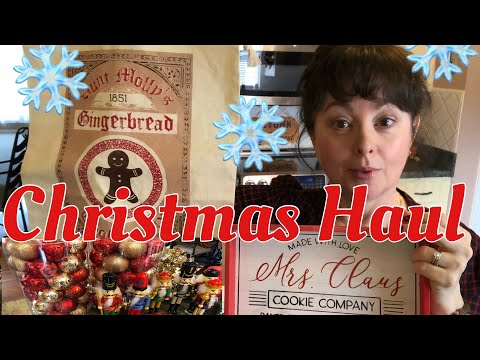 Christmas Haul | Walmart | Dollar Tree | Target Dollar Spot | Etsy 2019