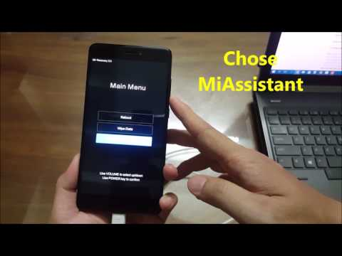 HOW TO FLASH REDMI NOTE 4X FROM CHINA 8.1.12 TO GLOBAL ROM WITH LOCKED BL