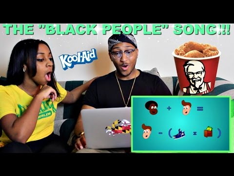 """Couple Reacts : """"The Black People Song"""" By ZFLONetwork Reaction!!!"""