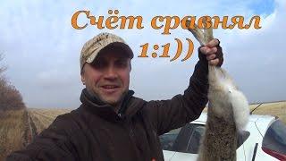 Охота на зайцев - 1:1 Счёт сравнял!))