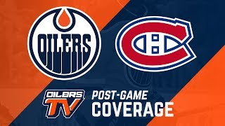 ARCHIVE   Post-Game Coverage – Oilers vs. Canadiens