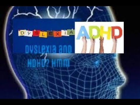 is dyslexia linked to ADHD? #dylsexia