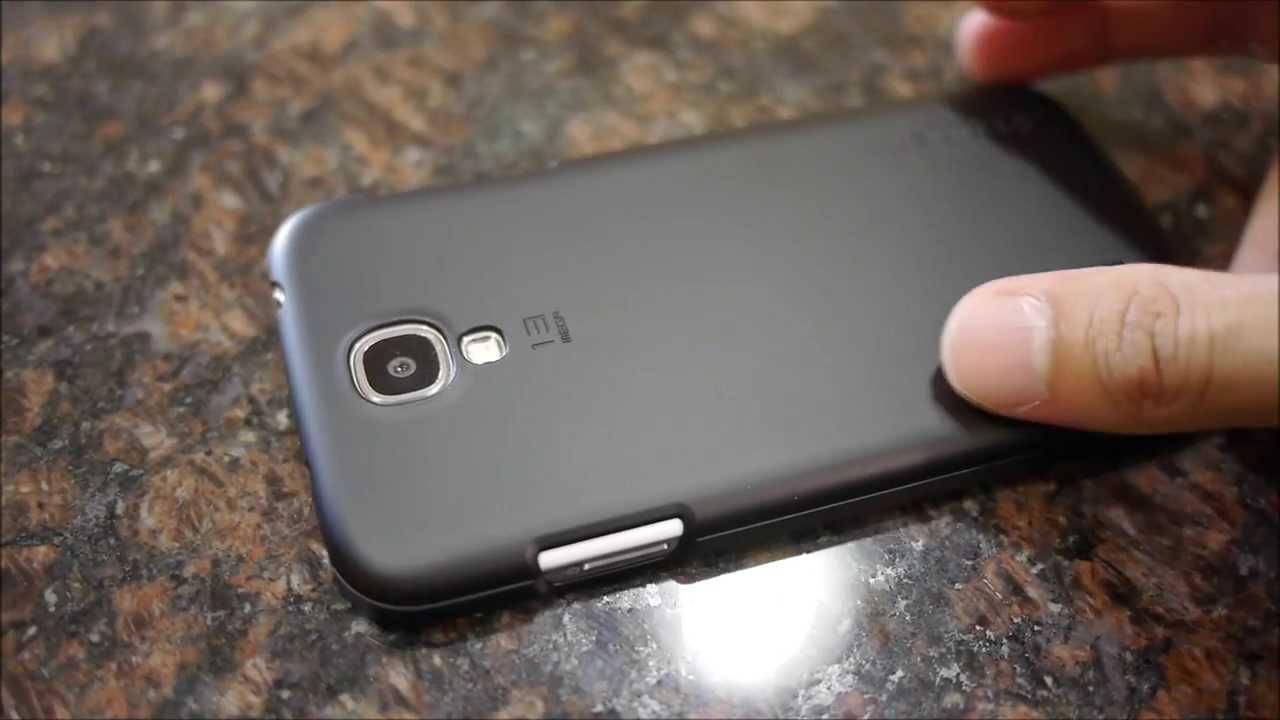 finest selection 6dc80 ee26c Spigen Ultra Fit Samsung Galaxy S4 Case hands-on | PhoneArena ...