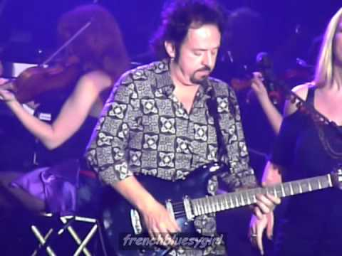 Steve Lukather (Toto) - While My Guitar Gently Weeps - Rock Meets Classic - Paris - 24/01/2012