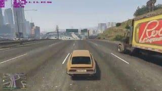 GTA 5 - GTX 560 1GB i3 2120 gameplay frame rate test