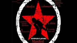 Straight Jonez - Steine (Manifest)