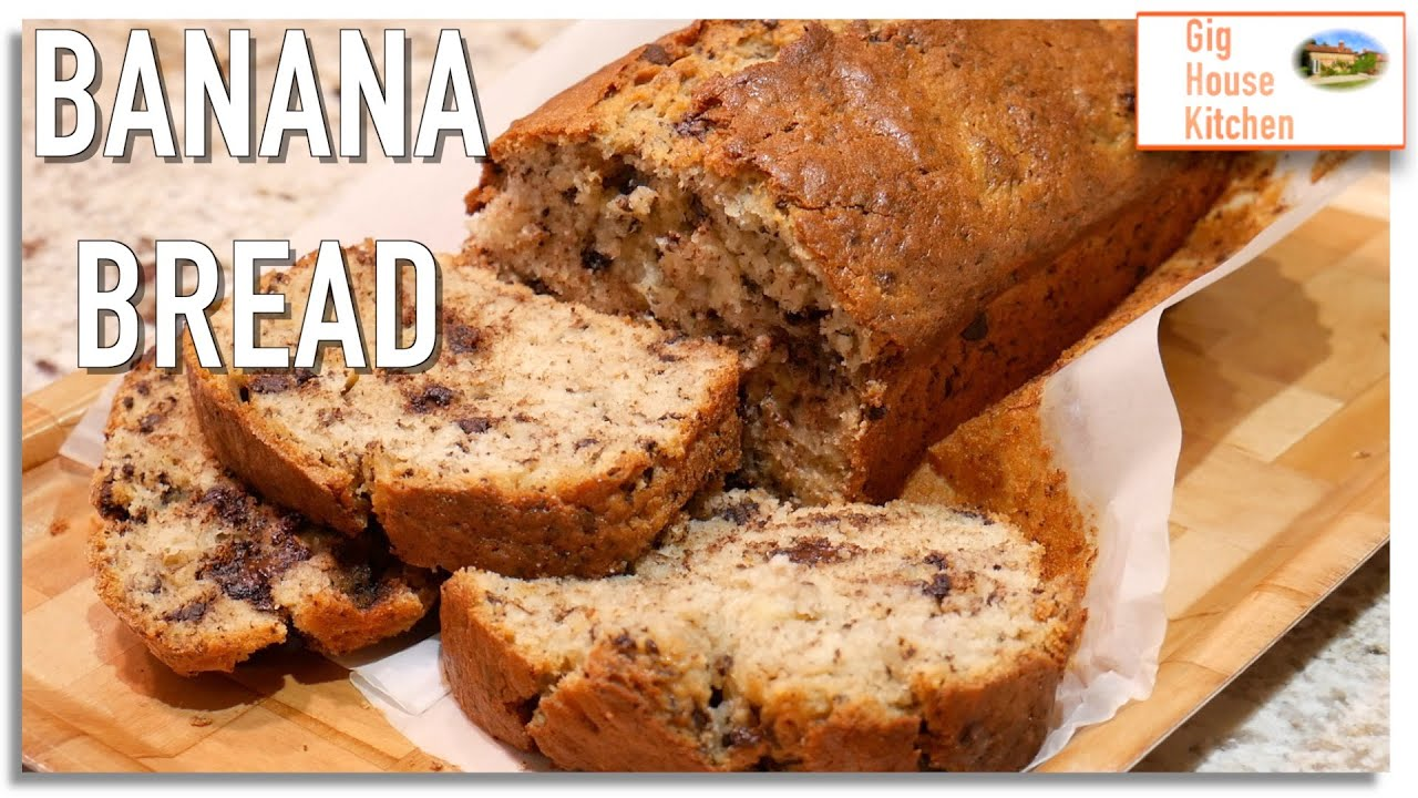 Let's Make... BANANA BREAD | store cupboard staple | EASY RECIPE