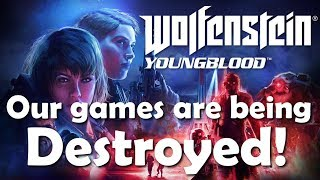 Our games are being destroyed!