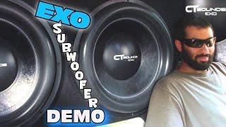 """18"""" CT Sounds EXO Subwoofers WALLED OFF w/ Jons Nasty 5000 WATT Car Audio System & LOUD BASS FLEX"""