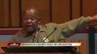 Cope leader speaks at Unisa Land debate