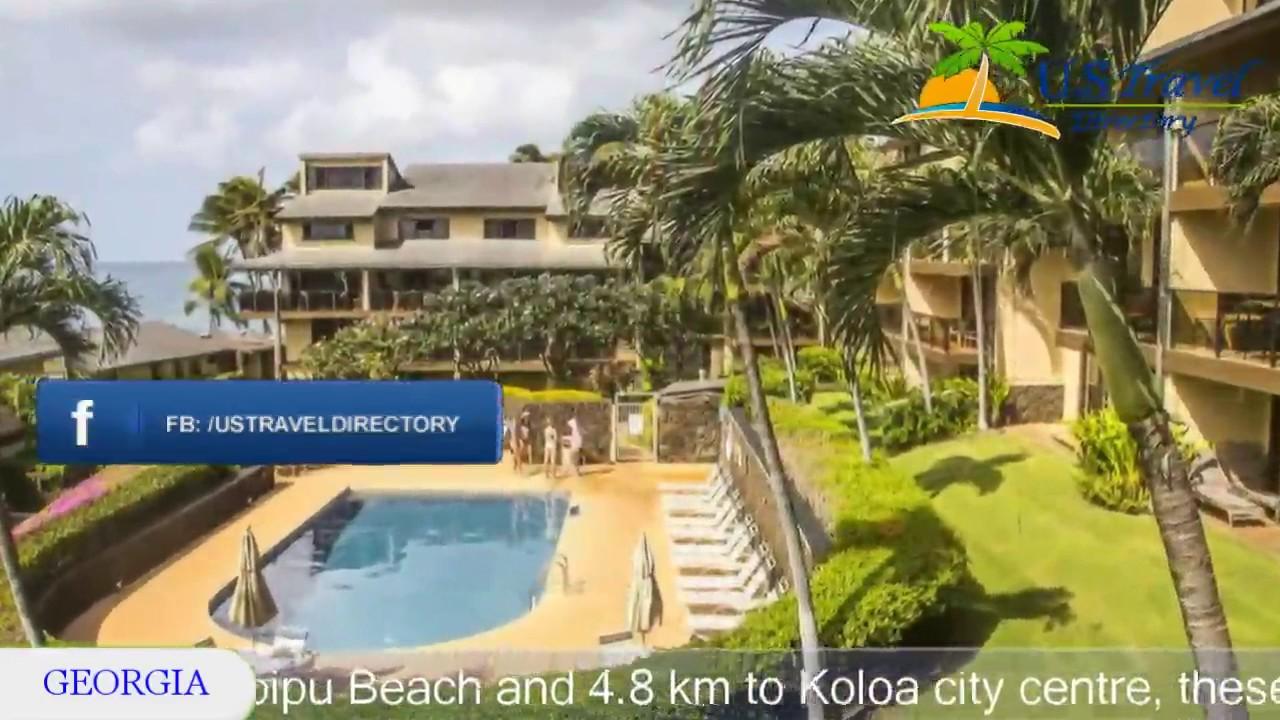 castle makahuena at poipu koloa hotels hawaii youtube rh youtube com