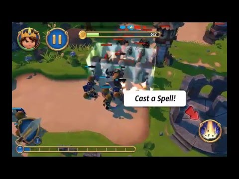Royal Revolt 2 Android Gameplay (best Strategy Game) Hd