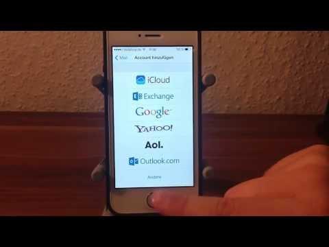 T-Online E-Mail am iPhone einrichten