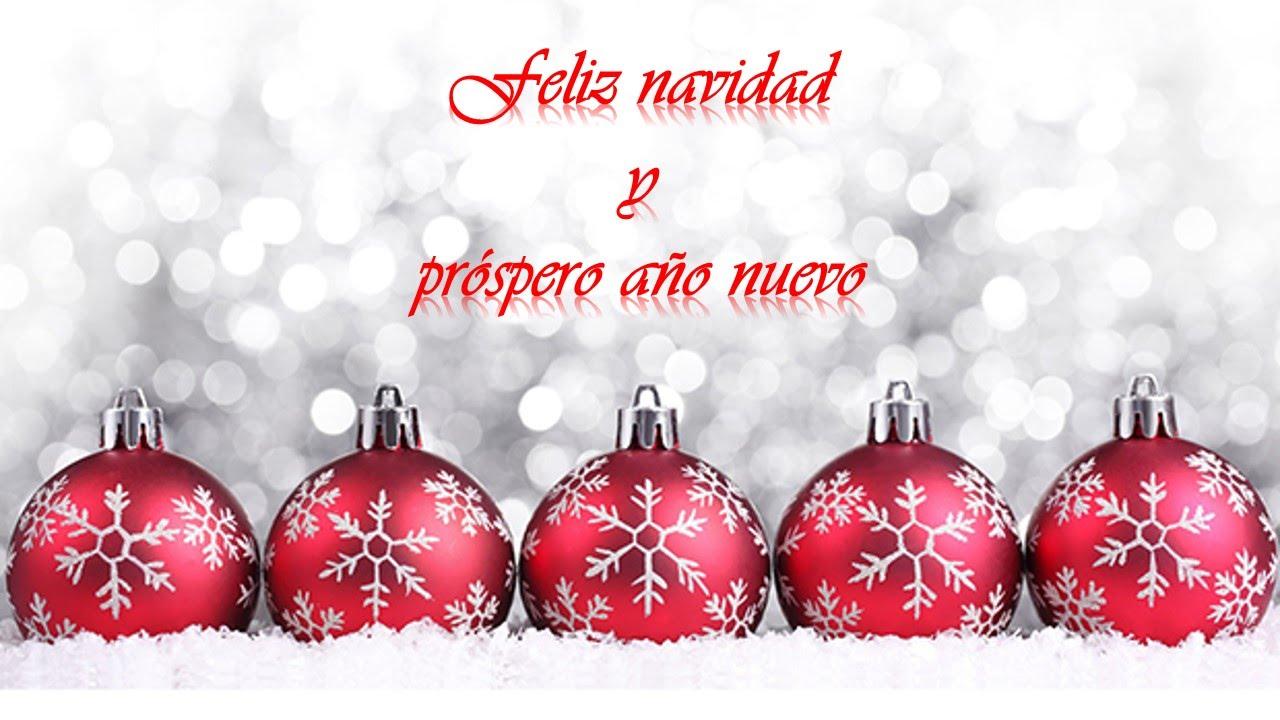 Postales de navidad y prospero ano nuevo