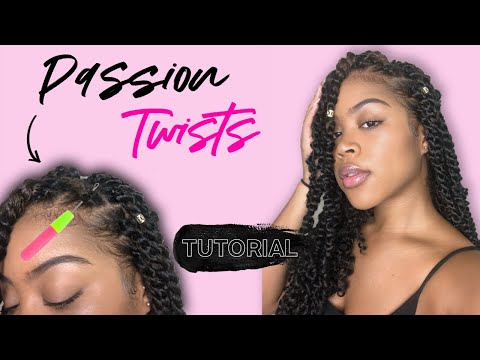 easy-passion-twists-on-natural-hair-(no-heat)-|-beginner-rubber-band-method-how-to-part-yourself!