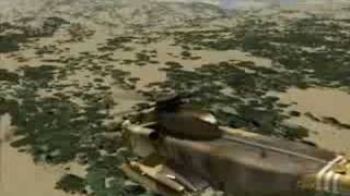 FSX Flying around Africa