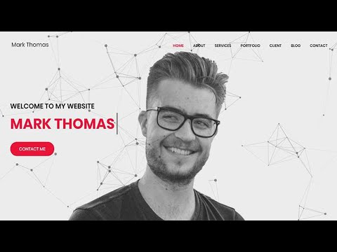 Mark Thomas - Personal Portfolio HTML Template Your Videos on VIRAL CHOP VIDEOS