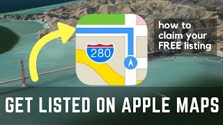 How To List Your Business On Apple Maps 100% FREE  [GOOGLE RANKING FACTOR]