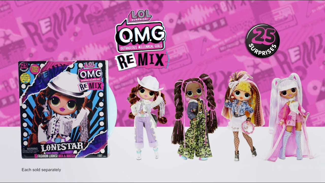 L.O.L. Surprise! Dolls Remix    Available for Pre-Order Now!