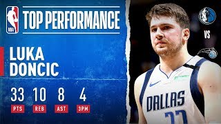 Luka Puts Up MAGICAL Performance In Orlando!