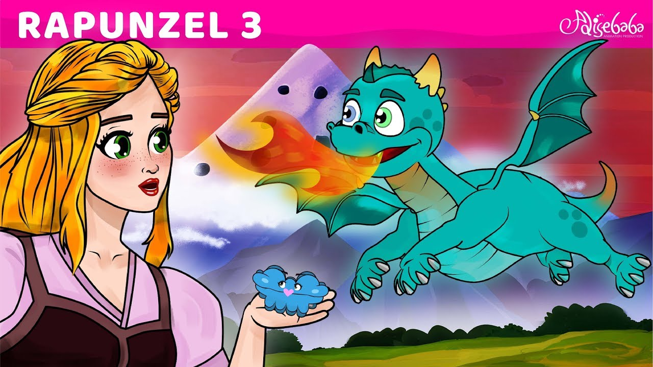 Download Rapunzel Series Episode 3 - Baby Dragon - Fairy Tales and Bedtime Stories For Kids in English
