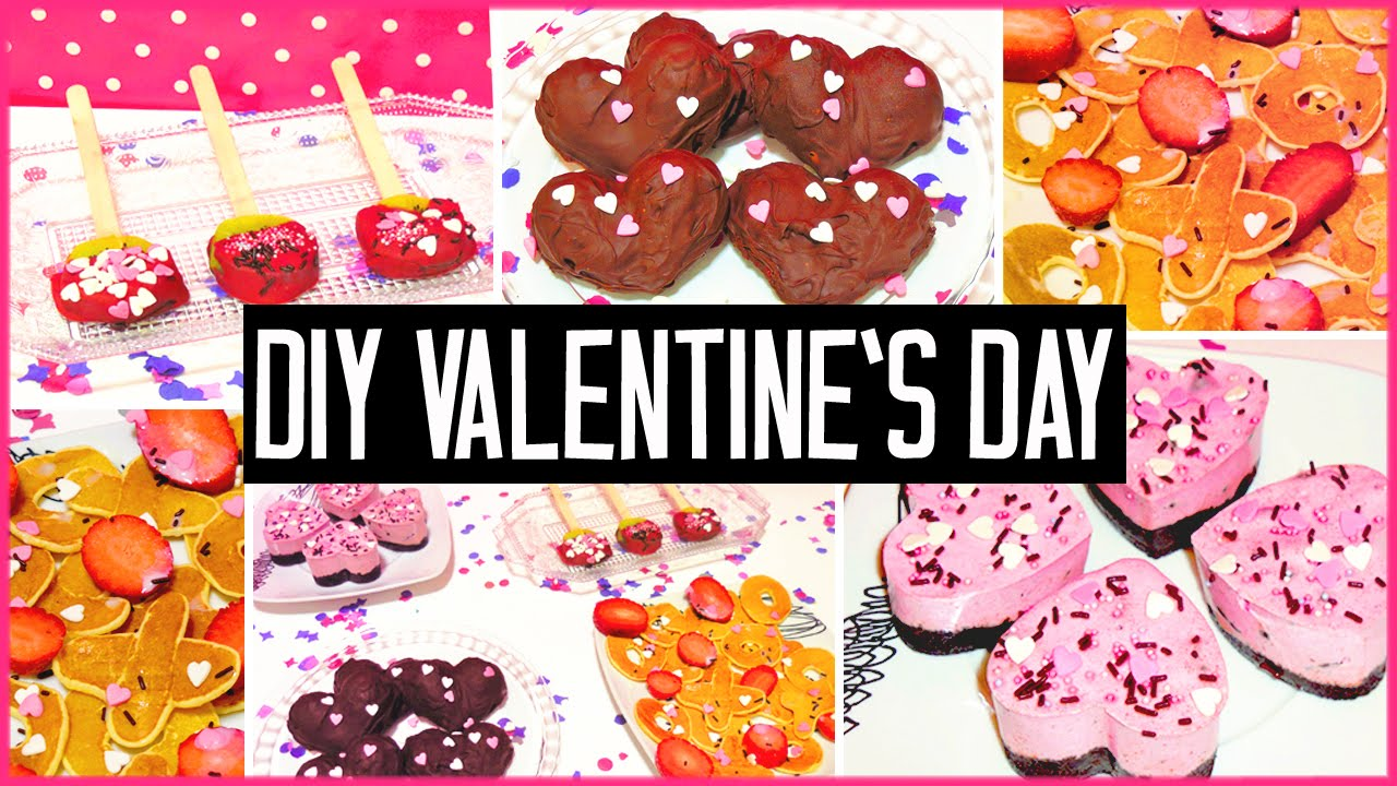diy valentines day treats easy cute gift ideas for boyfriend girlfriend youtube - Homemade Valentine Treats