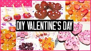 Diy Valentine's Day Treats! Easy & Cute | Gift Ideas For Boyfriend, Girlfriend...