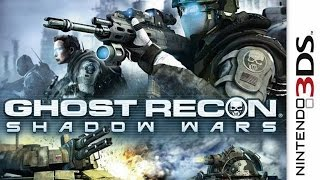 Tom Clancys Ghost Recon Shadow Wars Gameplay Nintendo 3DS 60FPS 1080p