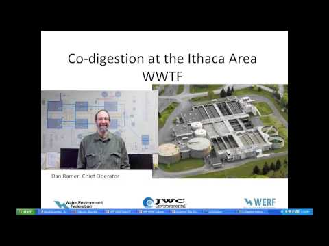 Webcast of the Month: Co-Digestion of Organic Waste Products with Wastewater Solids