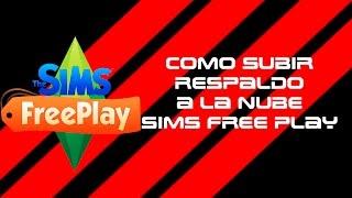 Como Subir progreso a la nube sims free play