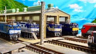 Nゲージ N天 EF64スペシャル!東海地方の貨物列車!
