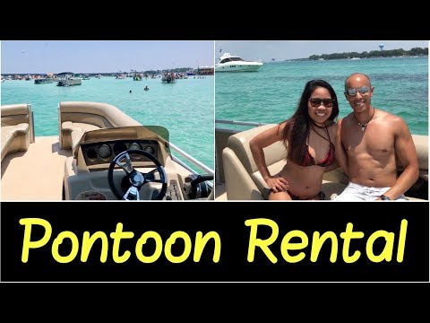 ✅Destin, Florida | Crab Island🏝 | Best Pontoon Boat Rental At Discount Watersports Quick Review