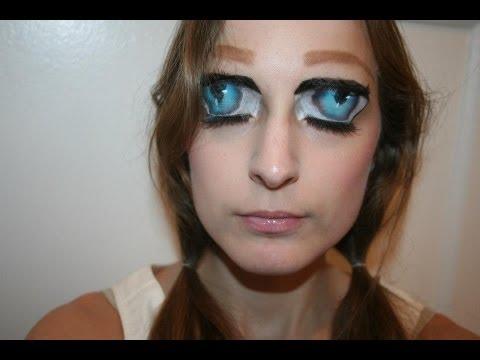 Anime Girl Eyes Makeup YouTube