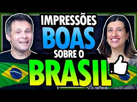 IMPRESSÕES BOAS DO BRASIL DEPOIS DE 10 ANOS MORANDO FORA - POLÊMICA!