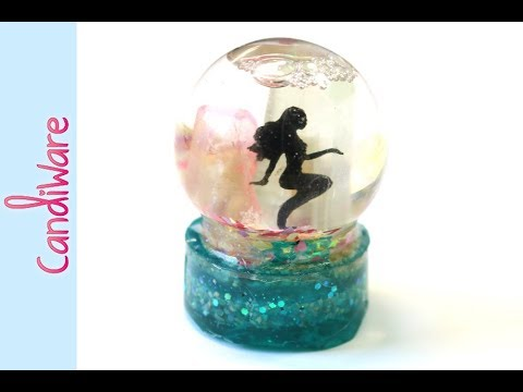 Mermaid Crystal Globe || UV Resin Tutorial