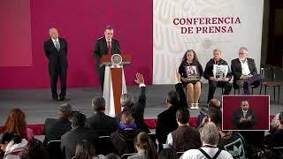 Conferencia de prensa México sobre acuerdo con EEUU.
