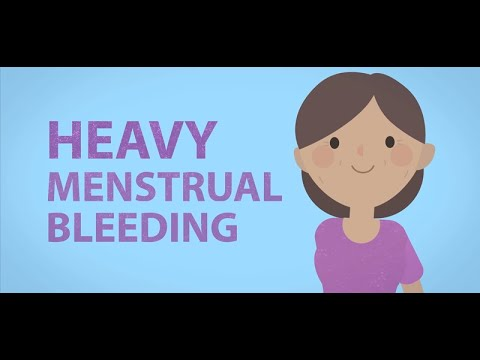Heavy periods: what you need to know